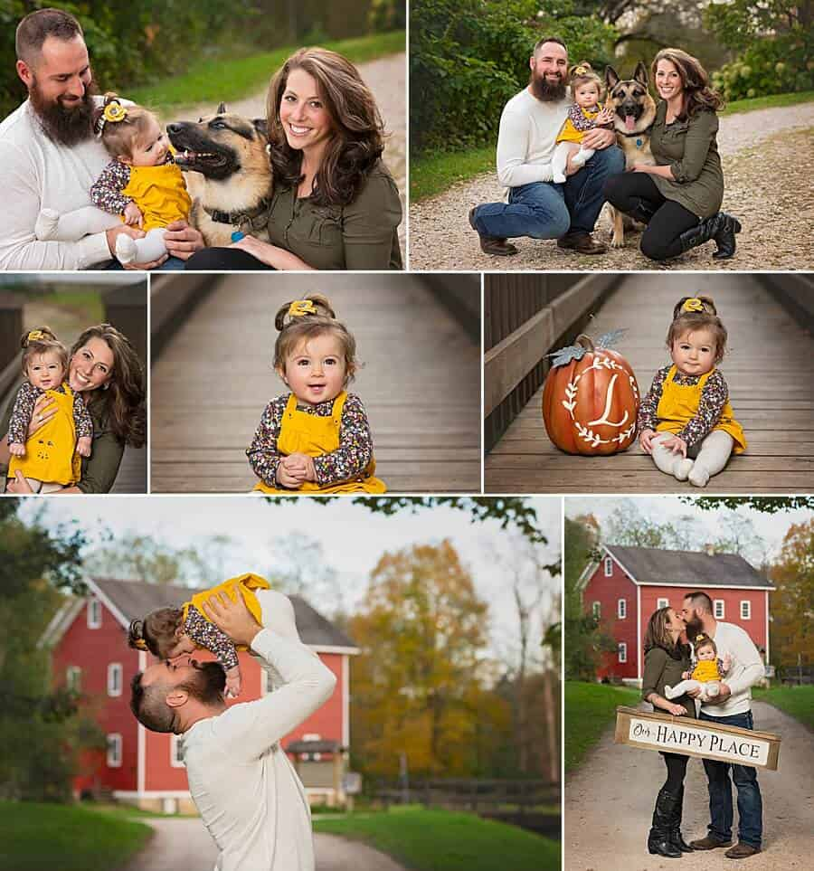 Slinger WI Family Pictures at Richfield Historical Society