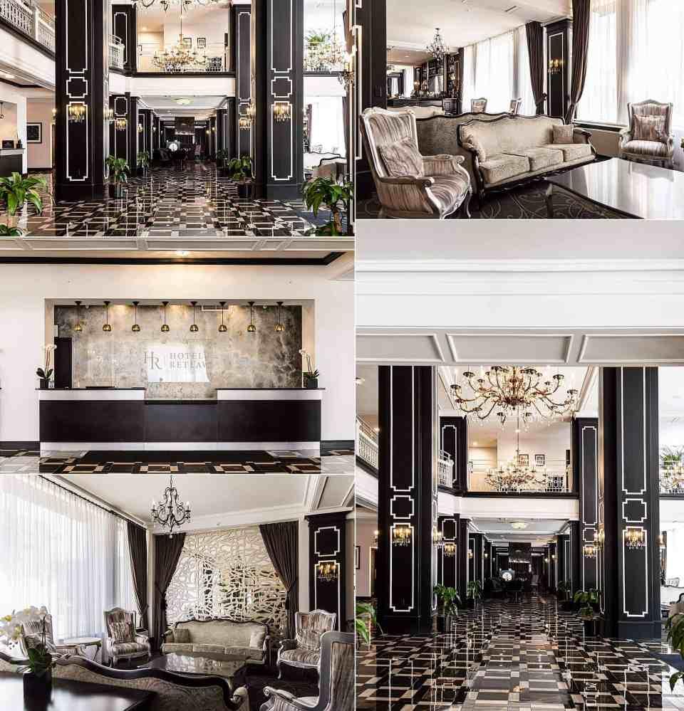 Hotel Retlaw Wedding Venue Lobby