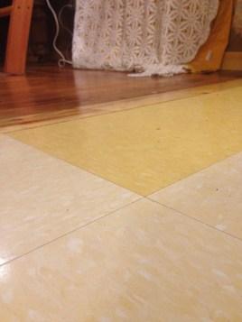 Ink-free floors