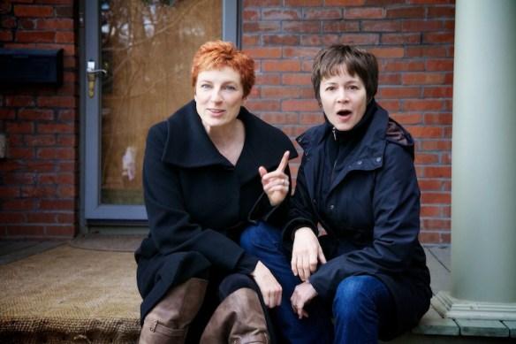 Ann-Marie MacDonald and Alisa Palmer  (c) Allyson Scott