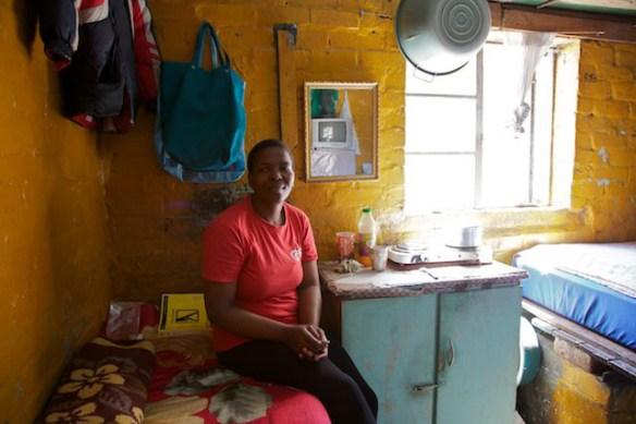 Langa Township resident, South Africa  (c) Allyson Scott