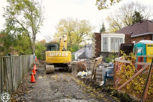 Bungalow demolition