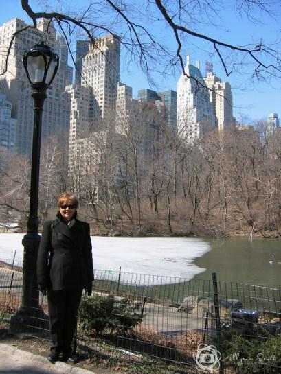 Mom in Central Park