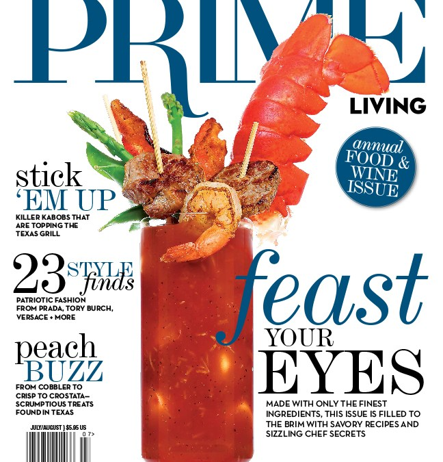 "Ally's Wish Second Annual Boots & Blessings Gala recently featured in 2016 ""Food & Wine"" issue of PRIME Living"