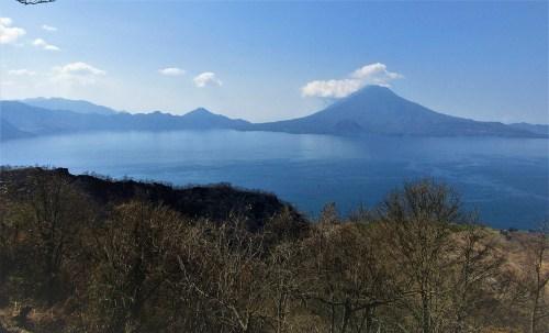 Vista al Lago Atitlán
