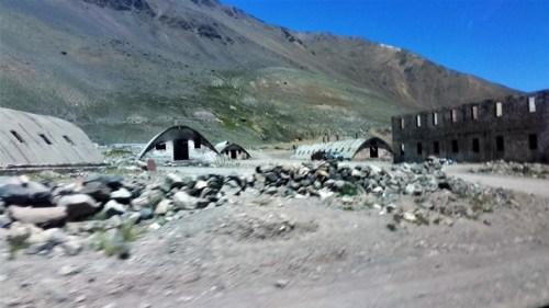Campamento abandonado Utilizado para la Minería y para la construcción del EMBALSE.