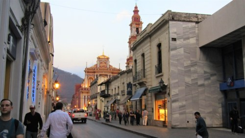 Calle Caseros - Cuidad de Salta