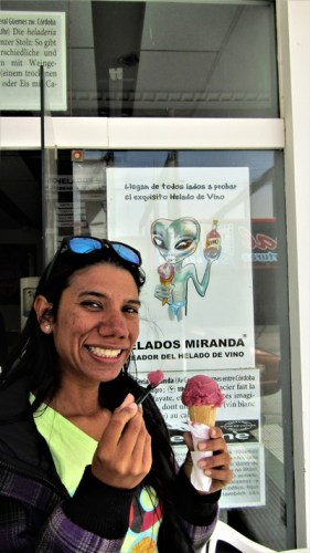 Helado de vino - Helados Miranda