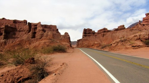 Camino a Cafayate - Ruta 68