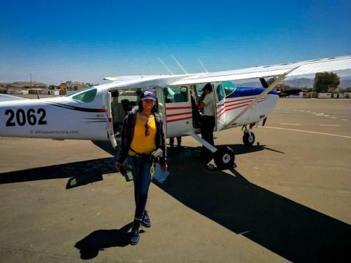 Nuestra avioneta