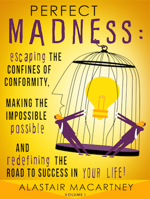 Perfect Madness Book on Amazon