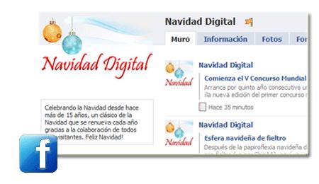 Navidad Digital en Facebook!