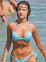 Catarina-Sikiniotis-Shows-Off-Her-Blue-Bikini-in-Greece-06