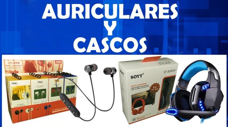 AURICULARES Y CASCOS