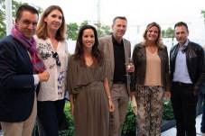 Jaime Colomar, Nathalia Rigo, Dra. Libertad Caro, Günter Saurwein, Isabel Guarch y Pedro Vidal