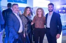 Gabriel Llobera, Susana Montilla, Magda Ramis y Gabriel Llobera