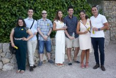 Adela Herrero, Jordi Del Río. Rubén Peralta, Jessica Noceras, Joan Galvez, Cristina Roselló y Pedro Duran