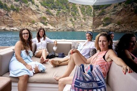 Lidia Ramón, Cati Amengual, Resu Ragel y Alicia Polo