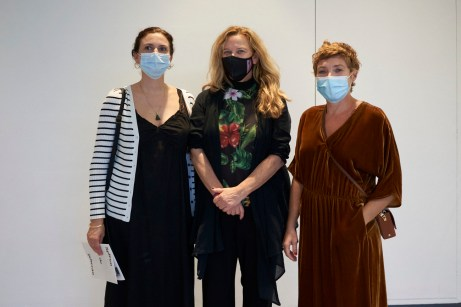 Aina Perello, Catalana Joy y Nuria Marquès