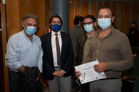 Miguel Serra, Xavier Bonet, Enric Borras y Jaume Perelló