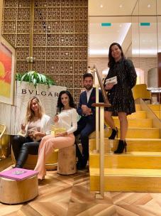 Desiree Lauder, Victoria Juster, Javier Llamas Y Ainara Quiroga