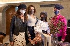 Mercedes Fernández, Ana Cagide de Le Tresor d´Anne, Olga Vélez de Garmendia Catering y Charlotte Miller de Bodegas Biagual
