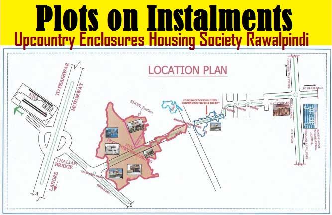 Upcountry Enclosures Housing Society Rawalpindi