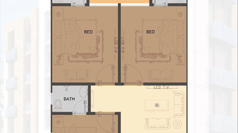 Tulip Apartments 3 Bedrooms