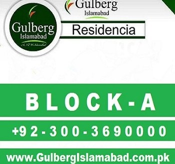 gulberg islamabad block a