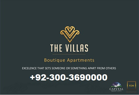 The villas Boutique Apartments Capital Smart City
