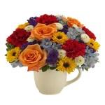 Se feliz. floristeria Alma Floral