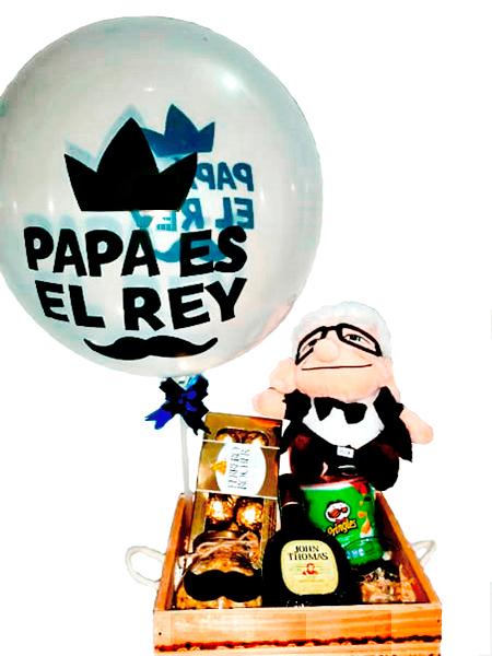 Ancheta Eres el Rey. Regalos día del Padre 2020. Floristería ALMA FLORAL Bogotá