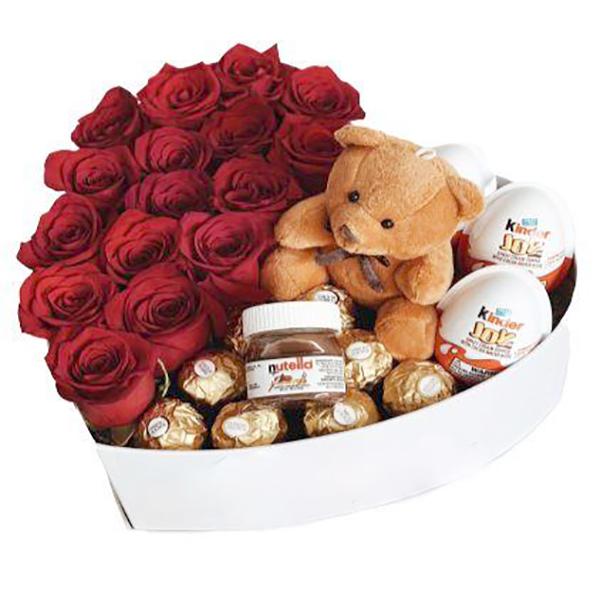 Sweet chocolate bear. Regalos amor y amistad 2020. Floristería ALMA FLORAL Bogotá