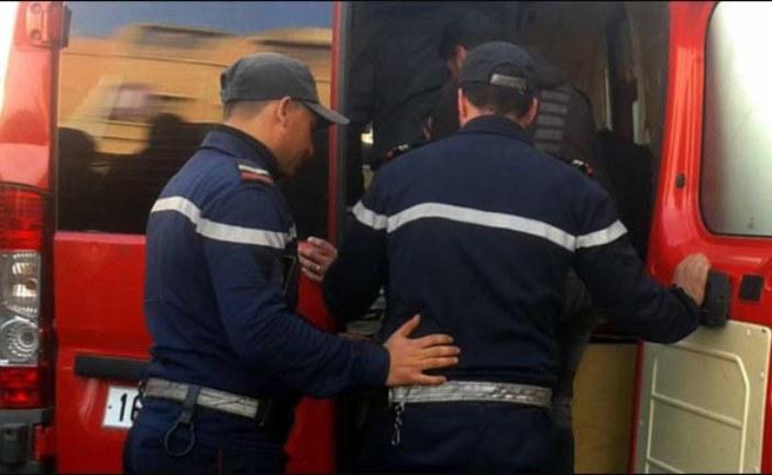 إصابة 4 أشخاص إثر حادثة سير خطيرة بأكادير