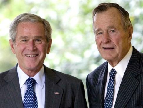 الرئيسان السابقان جورج بوش الأب والإبن يمتنعان عن تأييد ترشح ترامب