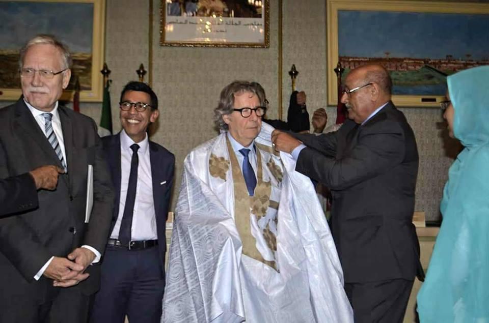 ولد الرشيد يلتقي أعضاء بمجموعة الصداقة البرلمانية الأوروبية المغربية