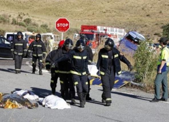 صادم… مصرع 4 أفراد من أسرة واحدة في حادثة سير بجرسيف