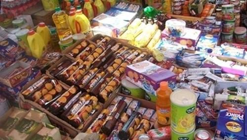 حجز وإتلاف أطنان من المنتجات الغذائية غير الصالحة للاستهلاك