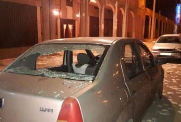 ملثمون يهاجمون مقر حزب الحركة الشعبية بالعيون في عز الحملة الانتخابية