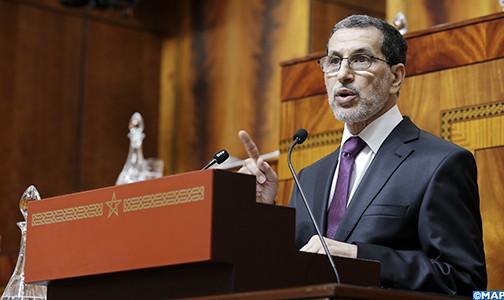 سعد العثماني يقدم أمام مجلسي البرلمان أهم ملامح البرنامج الحكومي