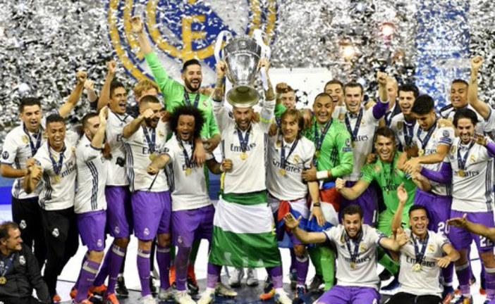 برشلونة يهنئ ريال مدريد بعد التتويج بدوري أبطال أوروبا