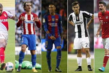 5 أسماء مرشحة لخلافة كريستيانو رونالدو بريال مدريد