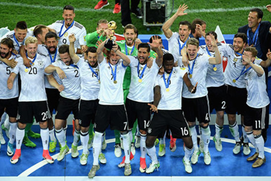 ألمانيا تتفوق على الشيلي وتحرز كأس القارات للمرة الأولى في تاريخها