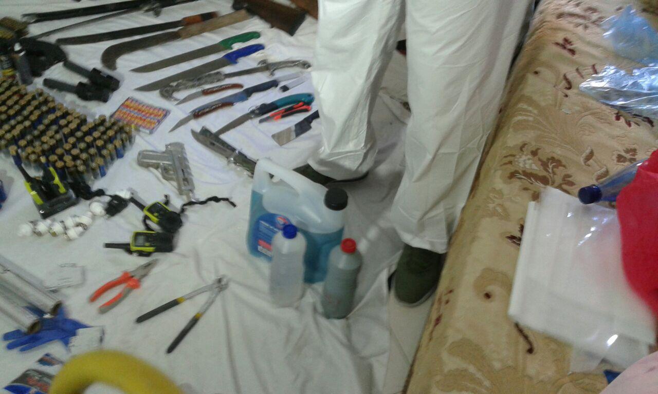 معطيات جديدة حول الخلية الإرهابية المفككة السبت… وزارة الداخلية تكشف حجز مواد كيميائية تستعمل في صناعة المتفجرات بمسكن العقل المدبر للخلية