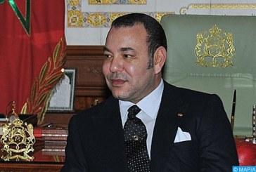 الملك يهنئ سيريل رامافوسا بعد انتخابه رئيسا لجنوب إفريقيا