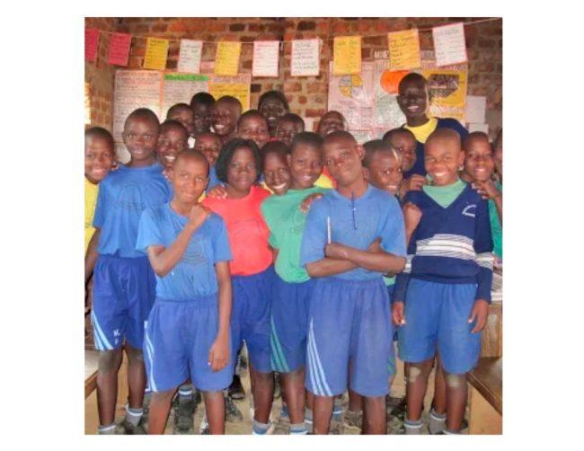 Schoolchildren in Uganda