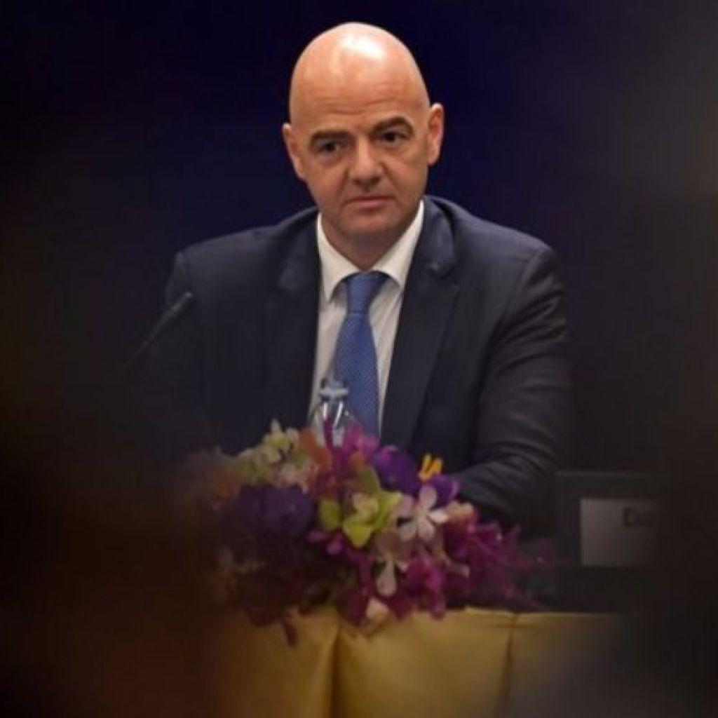 إنفانتينو رئيس الفيفا