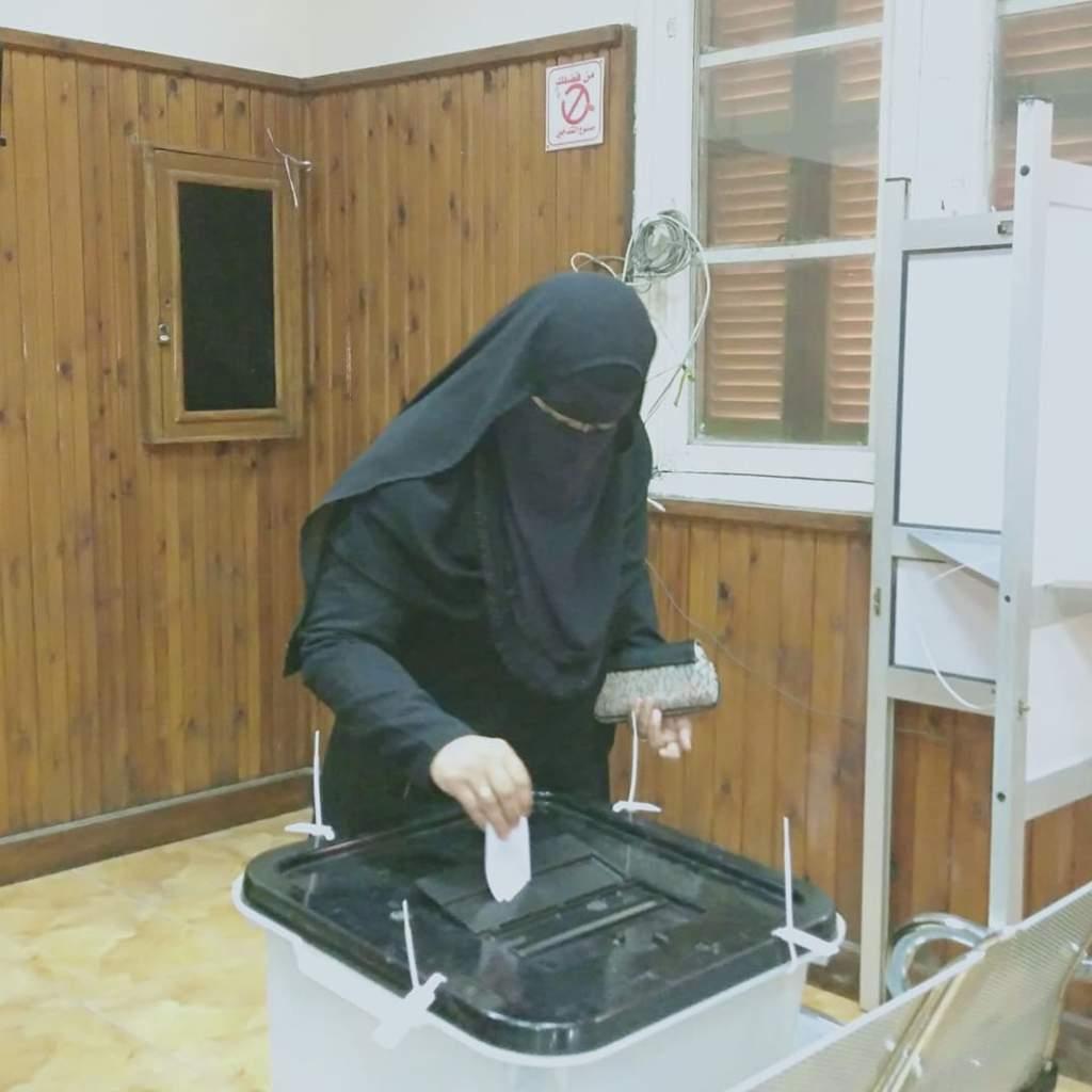 اقبال السيدات علي الانتخابات