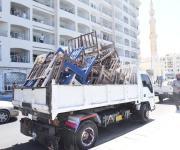 تحرير 68 محضر إشغال طريق نظافة بمرسى مطروح