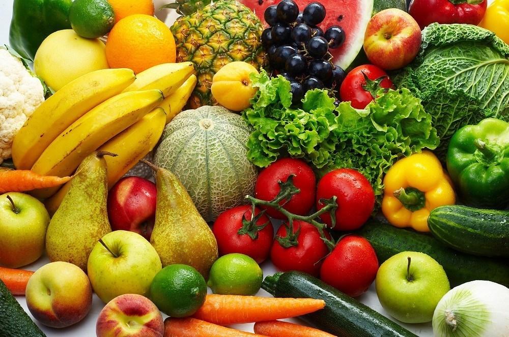 الخضر والفاكهة